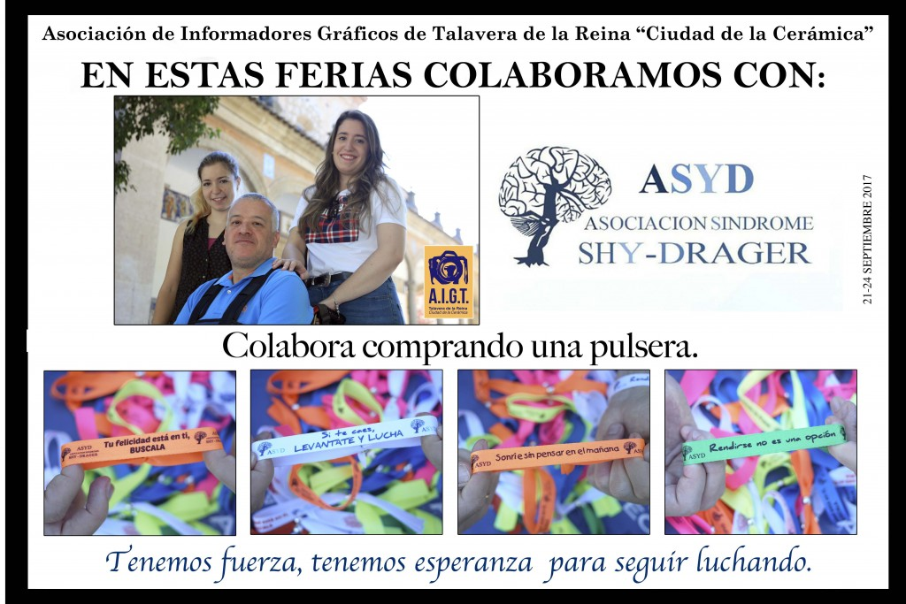 Cartel Solidario Shy-Drager Ferias San Mateo 2017